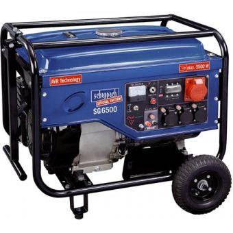 Бензиновый генератор Scheppach SG6500
